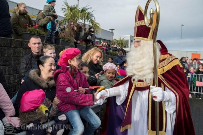 Sinterklaas aangekomen in Delfzijl