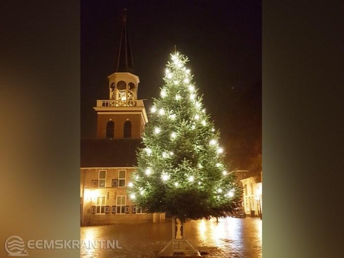 Kerstboom uit Aurich voor inwoners Appingedam