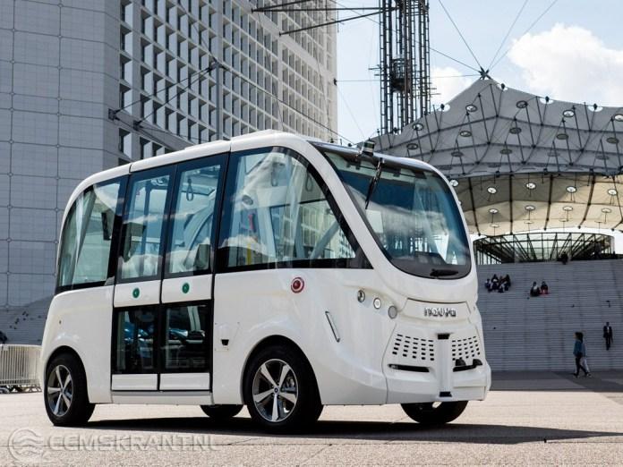 Plannen voor een zelfrijdend busje bij nieuw ziekenhuis Scheemda