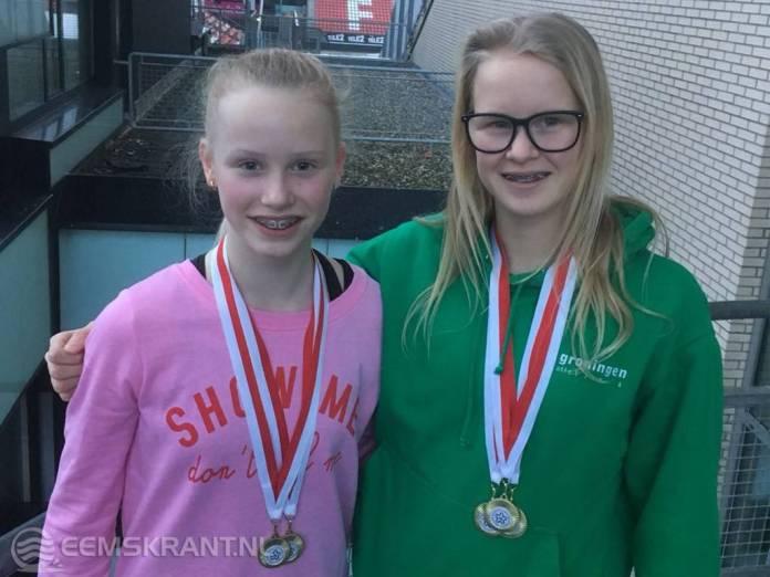 Gouden medailles voor Jill Uilhoorn en Maud Visscher op winterindoor in Utrecht