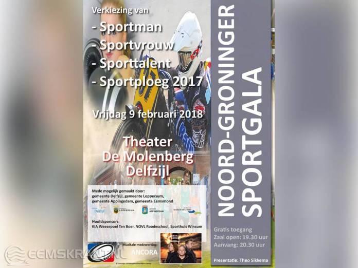 Ruim 6000 stemmen binnen voor genomineerden Noord-Groninger Sportgala