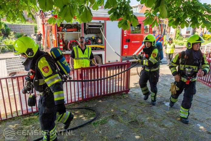 Gelderse brandweerkorps Dodewaard winnaar bij brandweerwedstrijd in Loppersum