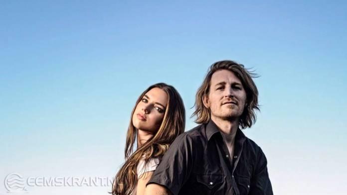 Optreden singersongwriters duo Rachel Reese en Jesse Lafave uit Austin TX in Bierum