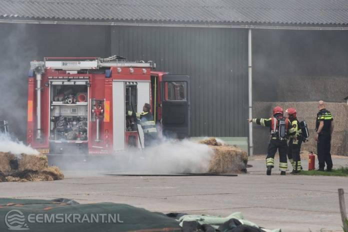 Grote brand in boerenschuur voorkomen door snel ingrijpen