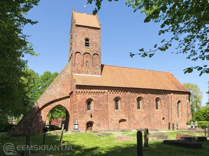 Sebastiaankerk Bierum krijgt voor de restauratie van het ex- en interieur bijdrage van het Rijk