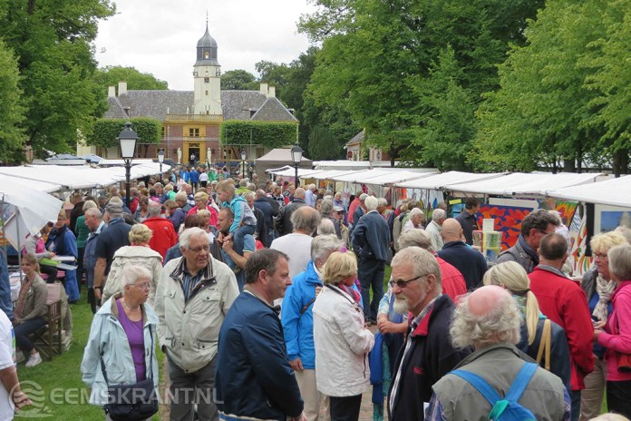 Kunstmarkt Fraeylemaborg wordt weer grandioos