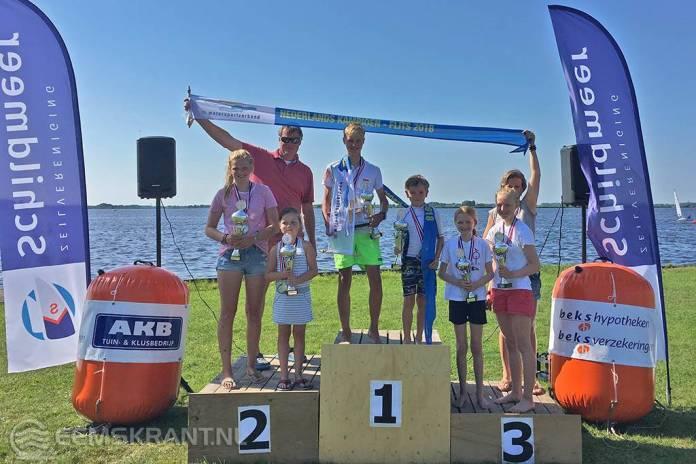 Robbert Huisman en Coen Bijlsma Nederlands kampioen Flitsklasse