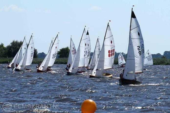 Nederlands kampioenschap flitsklasse op het schildmeer