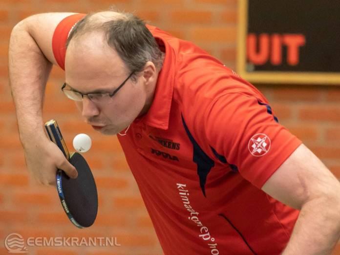 Groninger kampioenschappen tafeltennis in Loppersum