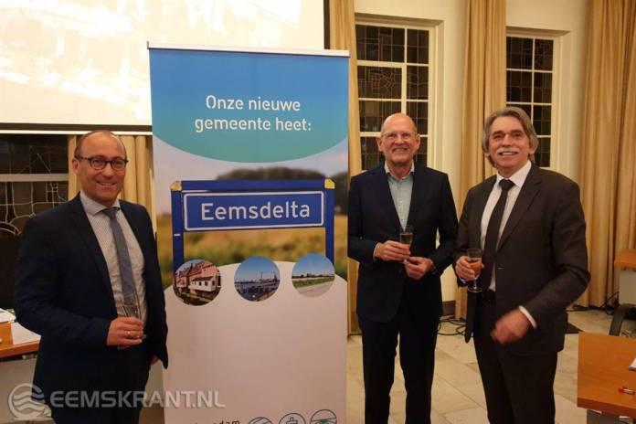 Delfzijl, Appingedam & Loppersum gaan na gemeentelijke herindeling verder als gemeente Eemsdelta