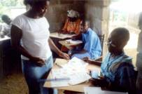 Pictorial learning aids workshop, Liberia