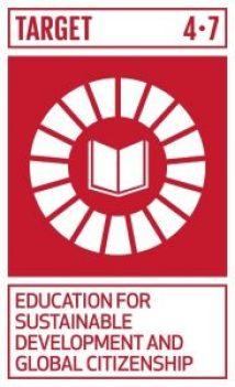 Logo for SDG target 4.7