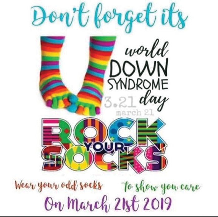 A poster for our Rock your Socks advocacy campaign