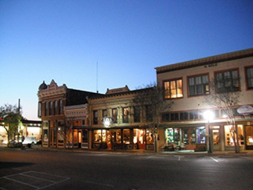 Downtown Georgetown, TX