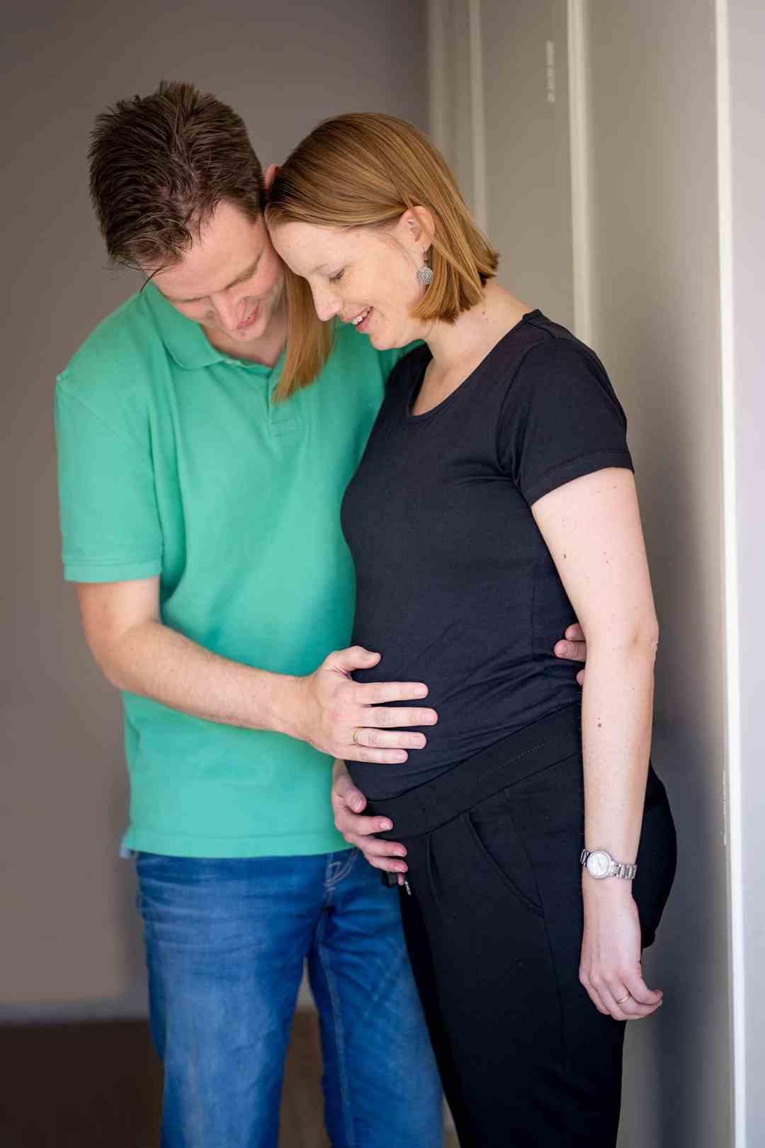 deurportret zwanger