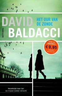 boekomslag David Baldacci - Het uur van de zonde