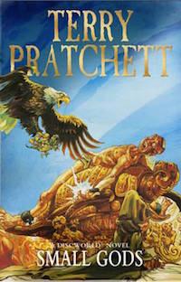boekomslag Terry Pratchett - Small gods
