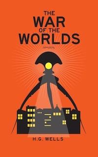 boekomslag H.G. Wells - The war of the worlds
