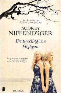 boekomslag Audrey Niffenegger - De tweeling van Highgate