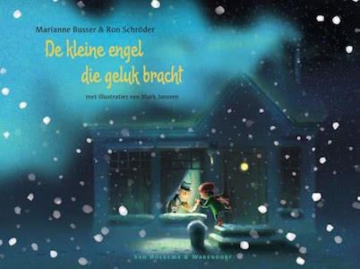 boekomslag Marianne Busser & Ron Schröder - De kleine engel die geluk bracht