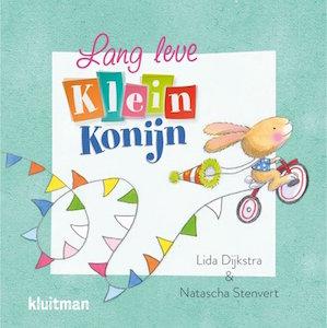 boekomslag Lida Dijkstra - Lang leve Klein Konijn