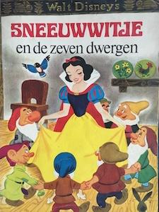 boekomslag Walt Disney Studios - Sneeuwwitje en de zeven dwergen