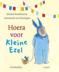 boekomslag Rindert Kromhout - Hoera voor Kleine Ezel