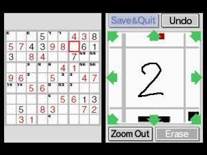 Sudoku op de Nintendo DS met braintraining
