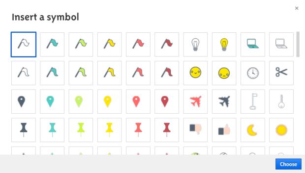 Prezi Symbols