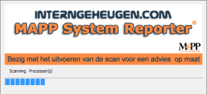 InternGeheugen.com - MAPP System Reporter