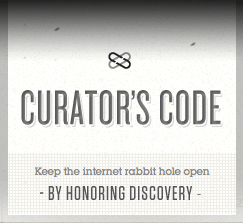 The Curator's Code logo