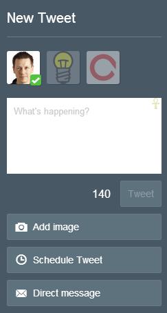 TweetDeck - Nieuwe tweet