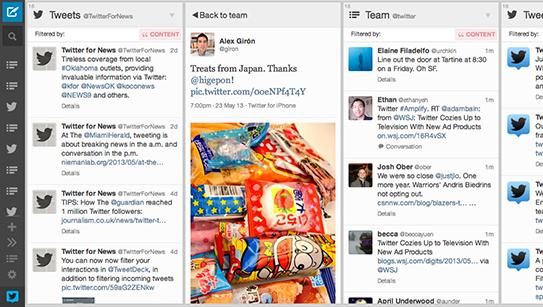 TweetDeck-interface