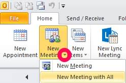 New Meeting with All