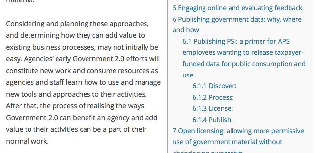 Table of Contents Plus voorbeeld inhoudsopgave