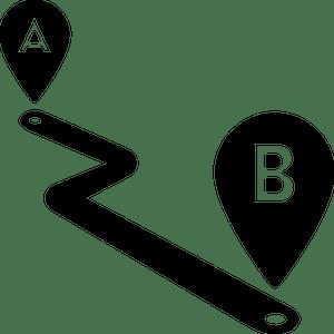 Afstanden en reistijden berekenen