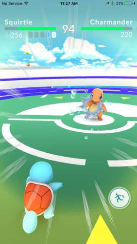 Pokémon Go - Gym vechten