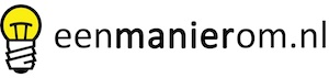 Eenmanierom.nl logo