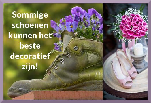 schoenen decoratie