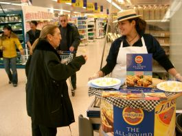 Jarlsberg Sampling 1