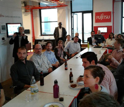The NYC 2030 District Summer Reception Group Photo and Haym