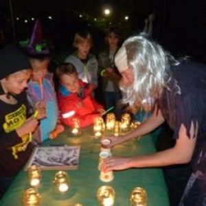 Geliefde Griezelfeest - Griezelspeurtocht | Eerste Hulp Bij Feestjes &LH25