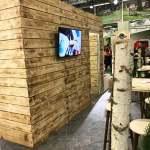 GaLaBau 2018 - Ansicht Kabinenrückseite mit Monitor