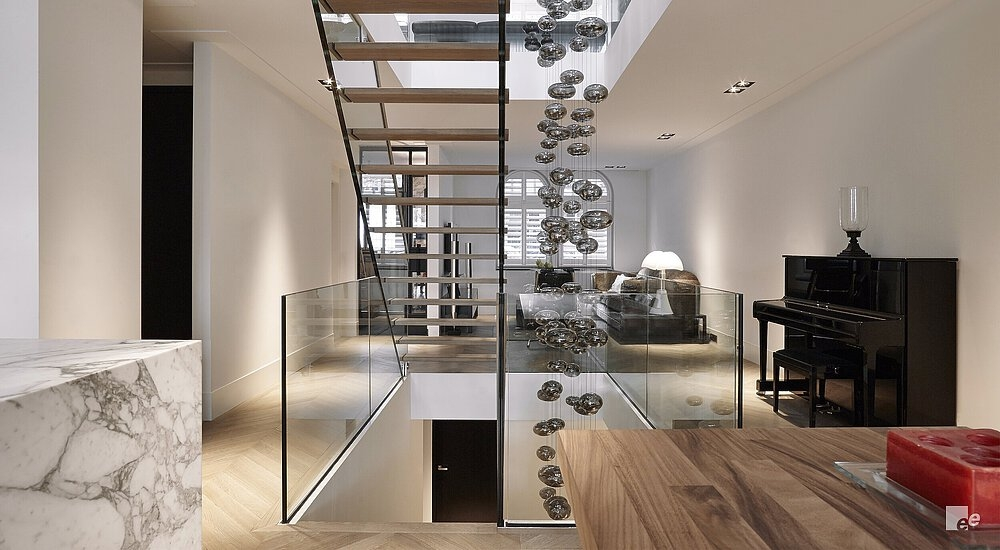 Open Stairs And Open Staircase Designs By Eestairs | 2 Stairs House Design | Interior | Dream House | Box Type | Basic | Ultra Modern