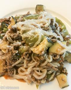 Low carb spaghetti met pastasaus