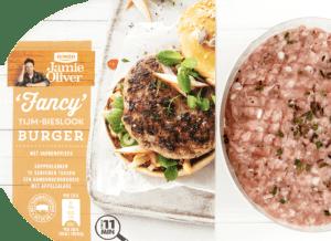 Hamburgers van Jamie Oliver