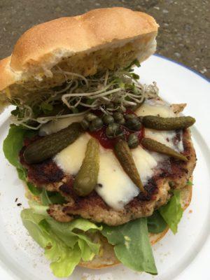 Hamburger uit de Airfryer