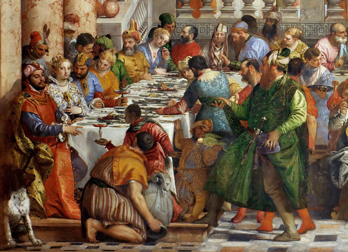 Paolo Veronese, Noces de Cana, 1562, Louvre