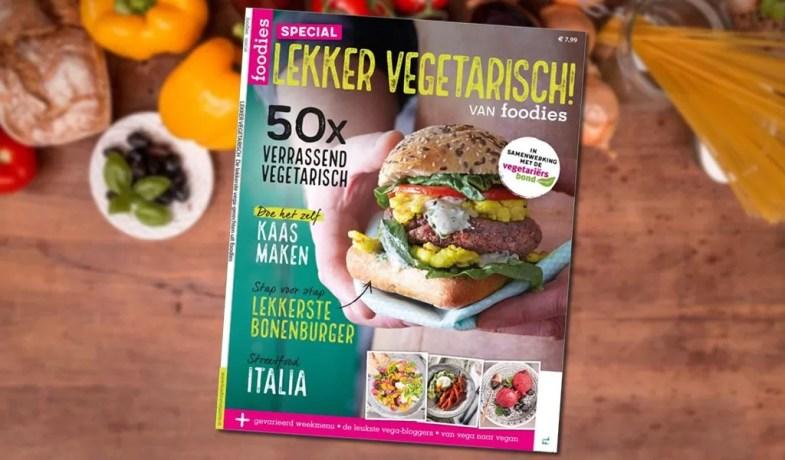 Lekker Vegetarisch: samenwerking Vegetariërsbond en foodies