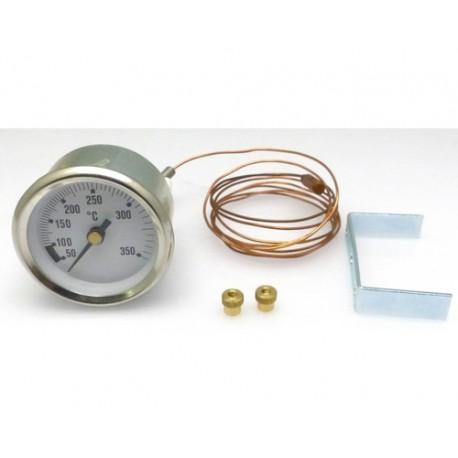 thermometre pour four o52mm tmini 50 c tmaxi 350 c capilaire
